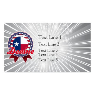 Devine, TX Business Card Templates
