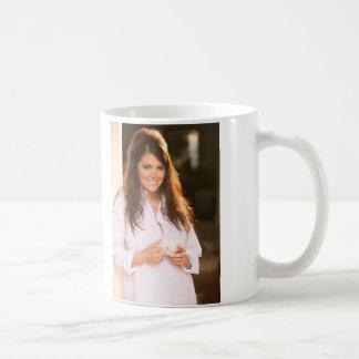 Devin's Cappuccino Basic White Mug