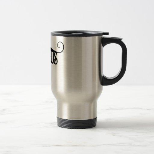 Devious Moustache Coffee Mug