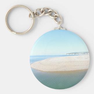 Devon Coastline UK Key Ring