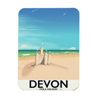Devon, England for a holiday. Magnet