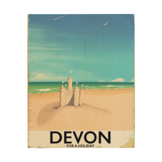 Devon, England for a holiday. Wood Prints