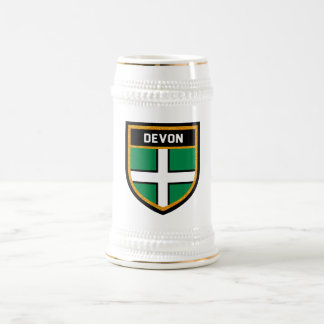 Devon Flag Beer Stein