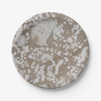 Devonian Fossil Paper Plates