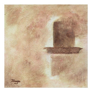 Devotion Large Abstract Original Art Painting Poster