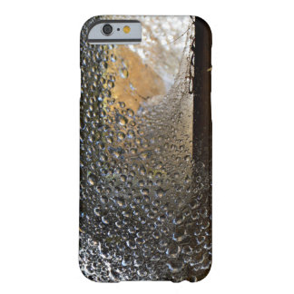 Dew Covered Spider Web Barely There iPhone 6 Case