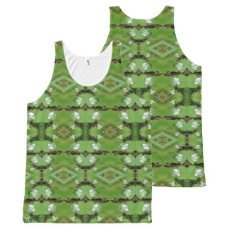 Dew Drops 1 All-Over Print Singlet