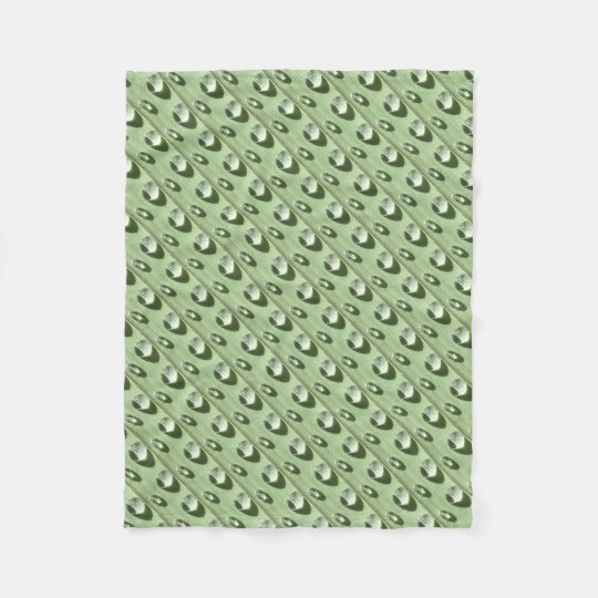 Dew Drops Fleece Blanket