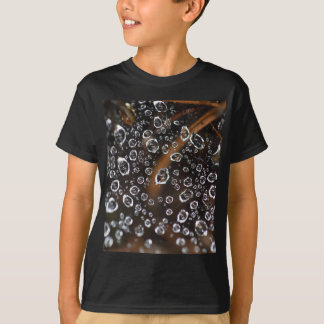 Dew drops in a spider net T-Shirt