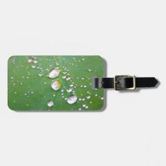 Dew Drops Luggage Tag