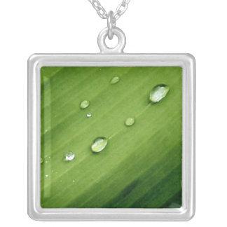 Dew Leaf Nature Necklace