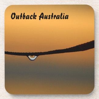 Dewdrop at sunrise drink coaster set