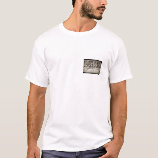 Dewees Island Mocha Grunge Front and Back T-Shirt