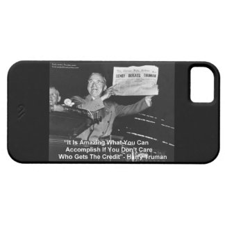 Dewey Beats Truman iPhone5 Case