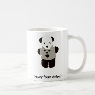 dewey from detroit flatsimile mug