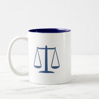 Dewey, Scruem & Howe Attorneys At Law Two-Tone Coffee Mug