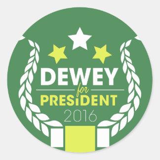 Dewey Stickers