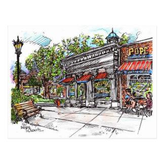 Dewey's Coffee House Shaker Square Postcard