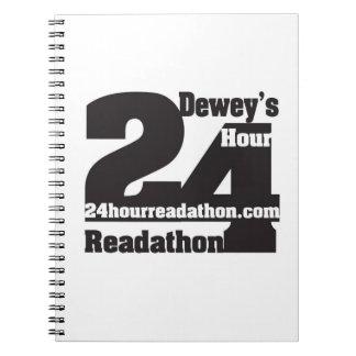 Dewey's Readathon Notebook