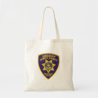 DeWitt County Sheriffs Department Tote Bag