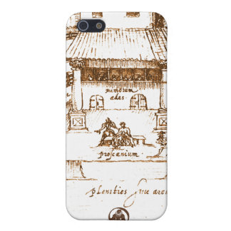 Dewitt's Swan Theatre Sketch Case For The iPhone 5
