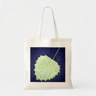 Dewy Leaf Budget Tote