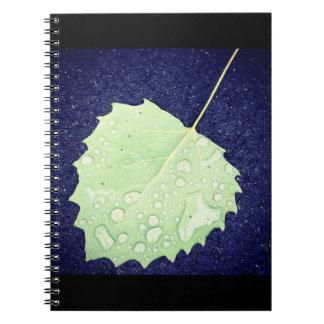 Dewy Leaf Notebook