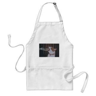 dexter deco hello adult apron