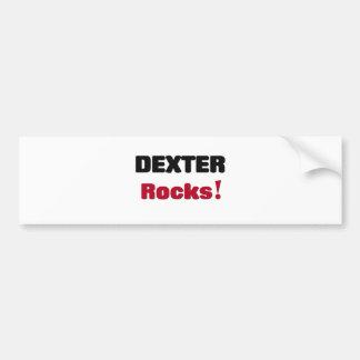 Dexter Rocks Bumper Sticker