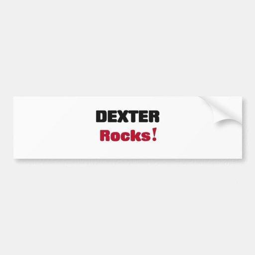 Dexter Rocks Bumper Stickers