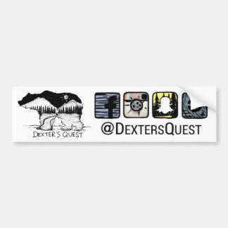 Dexter's Quest Bumper Sticker