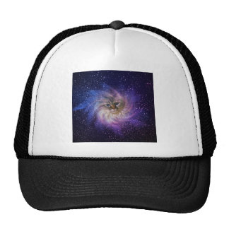 Deziz World Signature Purple Nebula Photo Cap