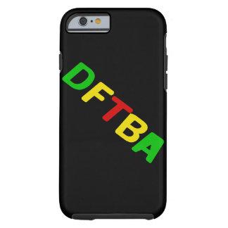 DFTBA Rasta Letters Tough iPhone 6 Case