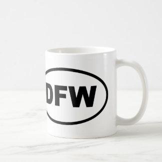 DFW Dallas Fort Worth Coffee Mug