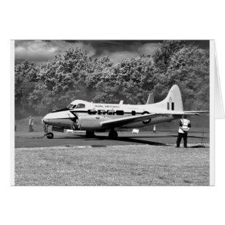 DH104 Devon aircraft Card