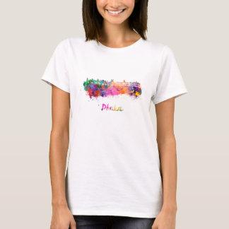 Dhaka skyline in watercolor T-Shirt
