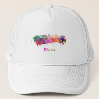 Dhaka skyline in watercolor trucker hat