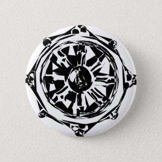 dharma 6 cm round badge