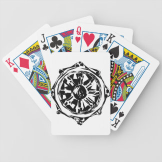 dharma bicycle playing cards