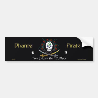 Dharma Pirate 2 Bumper Sticker