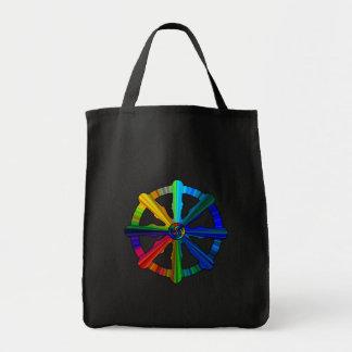 Dharma Wheel Color Spectrum Bag