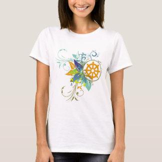 Dharma Wheel Floral T-Shirt