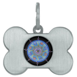 Dharma Wheel Pet Tag