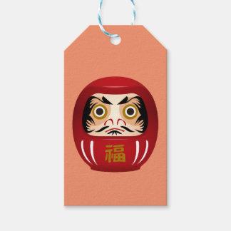 dharuma doll gift tags