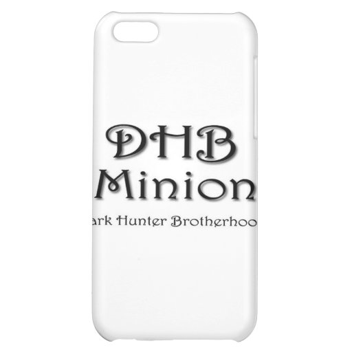 DHB MINION iPhone 5C COVER