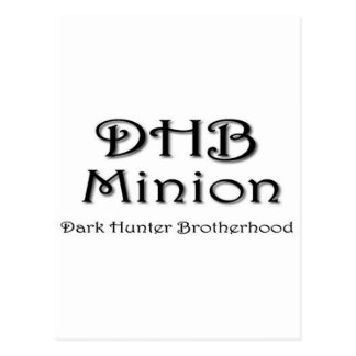 DHB MINION POSTCARD