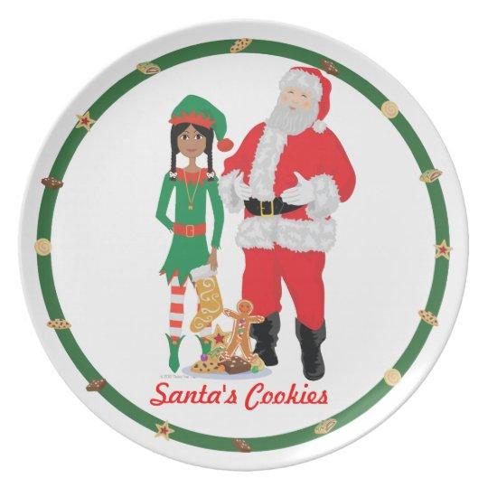 DHG Santa's Cookies Plate