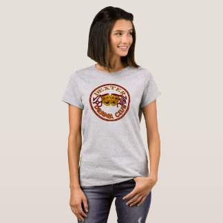 DHS Drama Logo basic Tshirt female grey