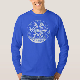 DHS Drama Logo let it snow! T-Shirt