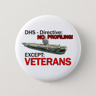 DHS: Whos Homeland? 6 Cm Round Badge